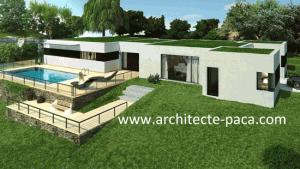 Plan Maison Moderne Plain Pied Toit Plat En Pdf